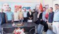 HDP ve ANAP'tan CHP Şanlıurfa il başkanlığına ziyaret
