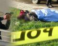 Ayrılacağı eşini sokak ortasında öldürdü