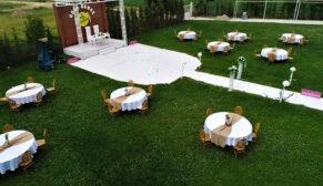 Düğünlerde de 'sosyal mesafe' uygulanmaya başladı