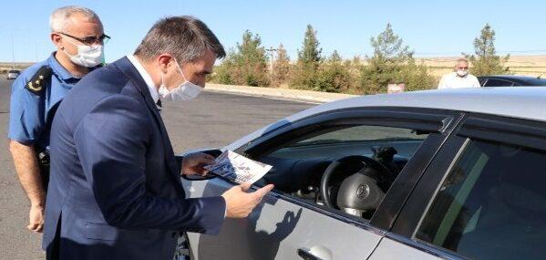 Şanlıurfa'da bayramda trafik denetimleri arttırıldı