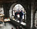 Korona nedeniyle kapalı olan tarihi han soyuldu