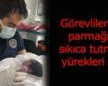 Ambulansta doğum yaptı