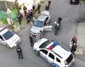 Polis'ten drone ile kovalamaca
