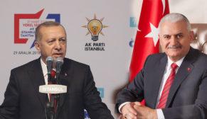 Akp Parti İstanbul Büyükşehir Belediye Başkan Adayı Binali YILDIRIM