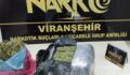 Viranşehir'de yapılan aramada uyuşturucu ele geçirildi