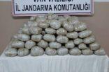 Katır sırtında kilolarca uyuşturucu ele geçirildi