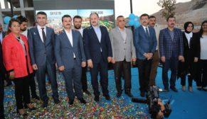 Eyüp Cenap Gülpınar parkı açıldı