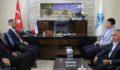 Şanlıurfa Milletvekili Yıldız, Kuş'a tebrik ziyaretinde bulundu