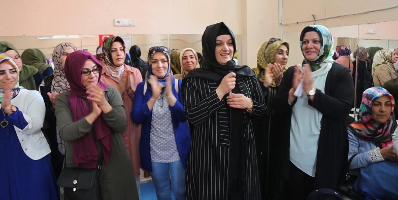Eyyübiyeli kadınlardan tam destek