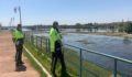 Fırat Nehri'ndeki balık ve martıları beslediler