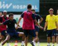 Fenerbahçe Atiker Konyaspor maçına ara vermeden devam ediyor