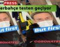 Sarı larcivertli futbolcular korona virüs testine giriyor