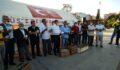 Şanlıurfa'da Güvercinler Filistin şehitleri için gökyüzüne salındı