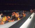 42 düzensiz göçmen kurtarıldı