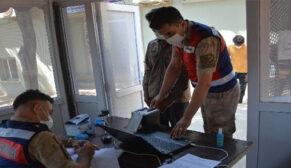 Şanlıurfa'da 22 düzensiz göçmen yakalandı