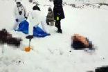 Kırsalda yedi göçmen cesedi bulundu