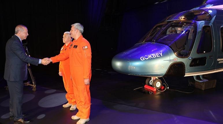 Cumhurbaşkanı Erdoğan, Milli helikopterin ismini açıkladı