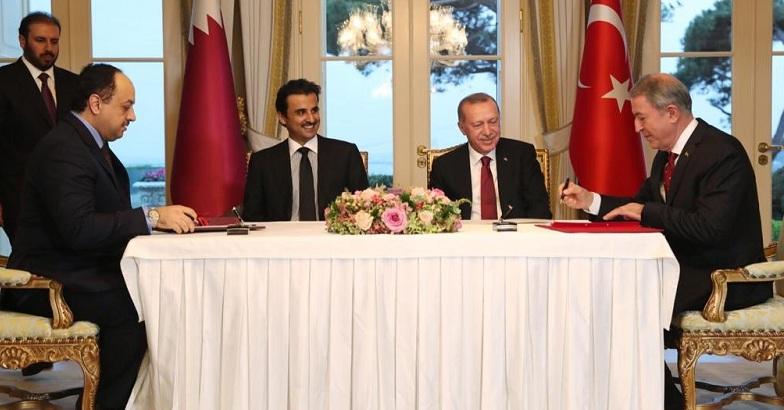 """Katar ile """"Elektronik Harp Alanında Eğitim ve İşbirliği Protokolü"""""""