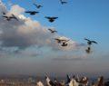 Yüzlerce güvercin gökyüzüne bırakıldı