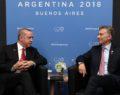 Cumhurbaşkanı Erdoğan, Cumhurbaşkanı Macri ile görüştü