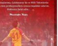 Kapı'dan Galatasaray'a veda