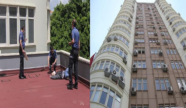 14 katlı binanın 12'nci katından düşen genç hayatını kaybetti