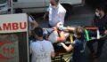 Genç işçi elektrik akımına kapıldı