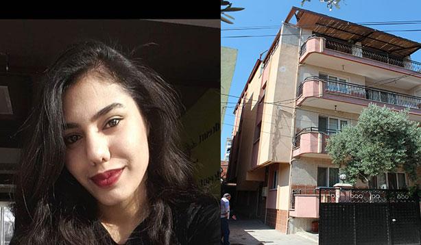 Çatıdan düşen genç kız beton zemine çakıldı