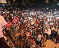 Şanlıurfalılar Gripin konseri ile doyasıya eğlendi