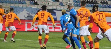 Galatasaray, zorlu deplasmandan galibiyetle ayrıldı