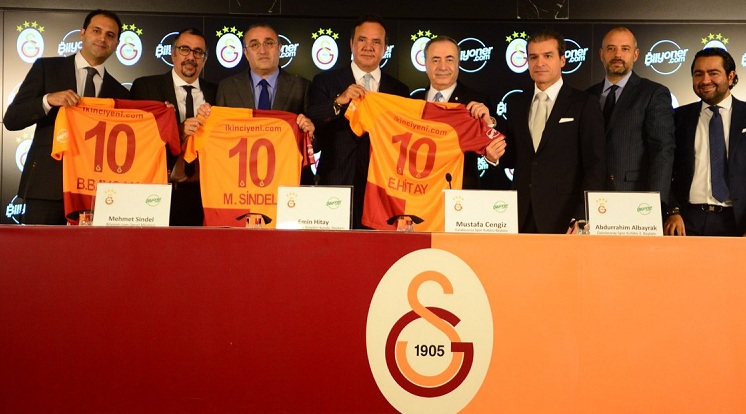 Galatasaray'ın yeni sponsoru