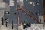 Polisten kaçan hırsız inşaattan düştü