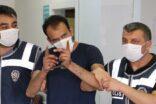Tutuklanan şahıs gazetecileri tehdit etti