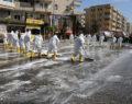 Haliliye'de korona virüs ile mücadele sürüyor