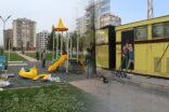 Haliliye'de çocukların yaşam alanları güzelleşiyor