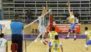Haliliye belediyespor voleybol takımından 3-1'lik galibiyet