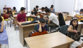 Haliliye belediyesinde gençler müzik ile tanışıyor