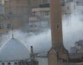 Şanlıurfa'da tarihi handa yangın