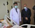 Harran üniversitesi hastanesinde hayata tutundu