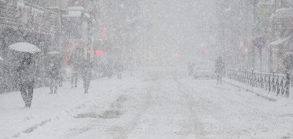 O ile yoğun kar uyarısı