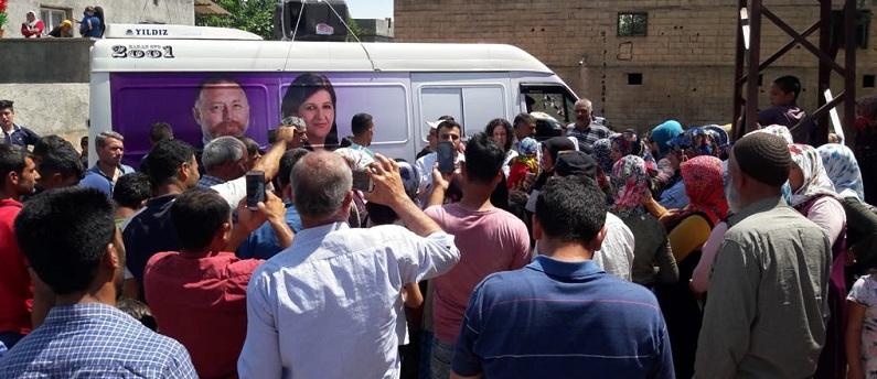 HDP Şanlıurfa'da son ana kadar çalışmaya devam edecek
