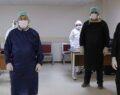 Şanlıurfa'da Covid-19 laboratuvarı kesintisiz hizmet veriyor