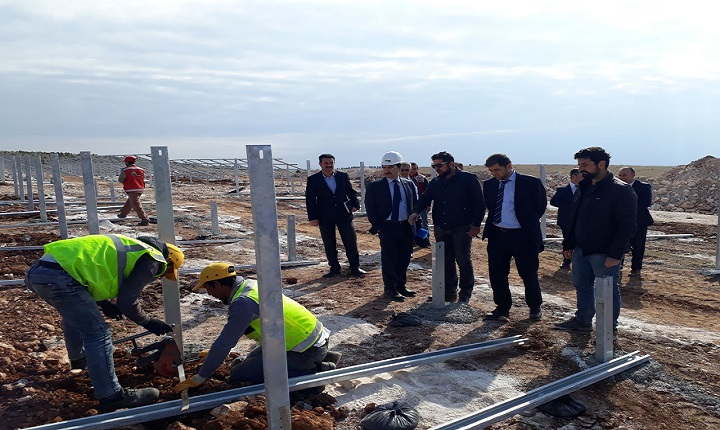 Harran Üniversitesi  'Güneş Enerjisi Santrali' kuruyor