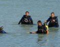 Denizde kaybolan genç işçi için aramalar devam ediyor