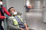 İşçi taşıyan minibüs devrildi: 14 yaralı