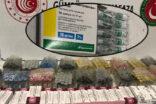 Sınır Kapısında kaçak ilaç ele geçirildi