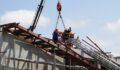Spor salonu inşaatı çöktü: 1 ölü, 1 yaralı