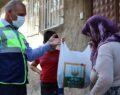 Urfa'da isotlar dar gelirli ailelere dağıtıldı
