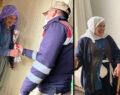Şanlıurfa'da yaşlılara jandarma'dan örnek davranış
