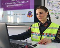 Şanlıurfa'da jandarmadan öğrencilere trafik eğitimi